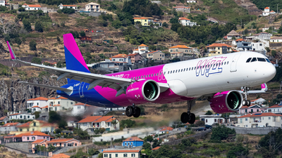 A picture of GWUKP - Airbus A321271NX - Wizz Air - © Nelson Sousa