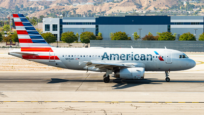 A picture of N815AW - Airbus A319132 - American Airlines - © Lynn Aisin-Gioro