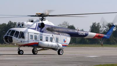 0834 - Mil Mi-8S Hip - Czech Republic - Air Force