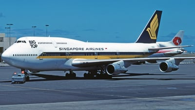 N122KH - Boeing 747-312 - Singapore Airlines