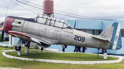 209 - North American AT-6G Texan - Guatemala - Air Force