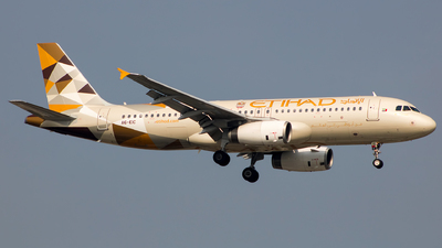 A picture of A6EIC - Airbus A320232 - Etihad Airways - © Aneesh Bapaye