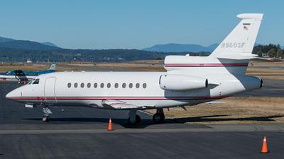 N960SF - Dassault Falcon 900EX - Private