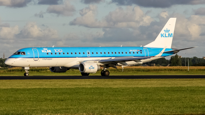 PH-EZY - Embraer 190-100STD - KLM Cityhopper