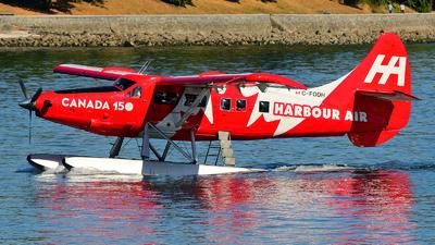 C-FODH - De Havilland Canada DHC-3T Vazar Turbine Otter - Harbour Air
