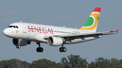 6V-AMB - Airbus A319-111 - Air Senegal
