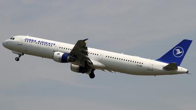 SX-ABD - Airbus A321-111 - Olympus Airways