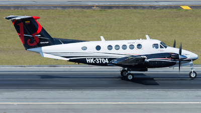 HK-3704 - Beechcraft B200 Super King Air - Rio Sur