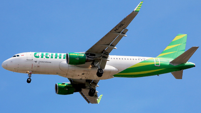 A picture of PKGQL - Airbus A320214 - Citilink - © Heppy Mahendro