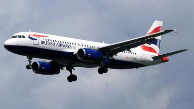 A picture of GEUYM - Airbus A320232 - British Airways - © M. Raykahn Ariga