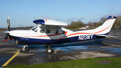 A picture of N23KY - Cessna P210N Pressurized Centurion - [P21000447] - © James Mepsted