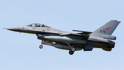 675 - General Dynamics F-16AM Fighting Falcon - Norway - Air Force