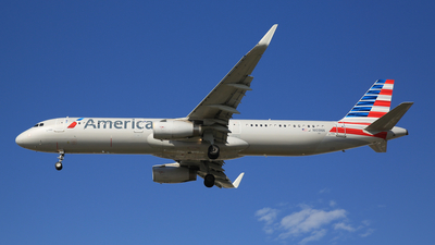 N109NN - Airbus A321-231 - American Airlines