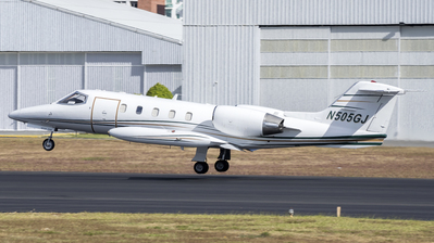 N505GJ - Bombardier Learjet 35A - Private