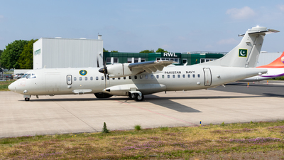 78 - ATR 72-212A(500) - Pakistan - Navy