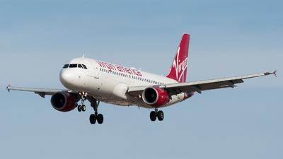 N626VA - Airbus A320-214 - Virgin America