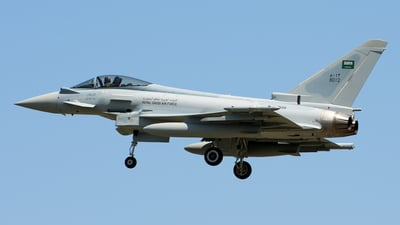 ZK611 - Eurofighter Typhoon T.1 - Saudi Arabia - Air Force