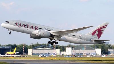 A7-BCJ - Boeing 787-8 Dreamliner - Qatar Airways