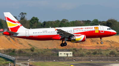 B-6943 - Airbus A320-214 - Lucky Air