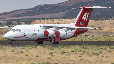 N471NA - British Aerospace BAe 146-200A - Neptune Aviation Services