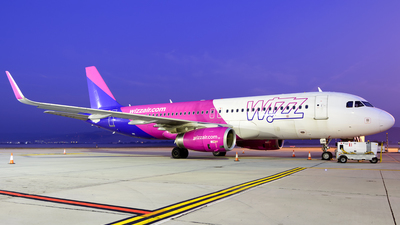 HA-LWU - Airbus A320-232 - Wizz Air