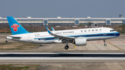 A picture of B8545 - Airbus A320271N - China Southern Airlines - © Sweet Potato