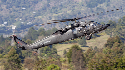 FAC4108 - Sikorsky UH-60A Blackhawk - Colombia - Air Force