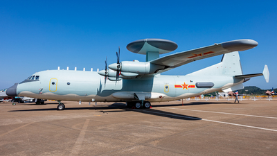 01 - Shaanxi Y-9/KJ500A - China - Air Force
