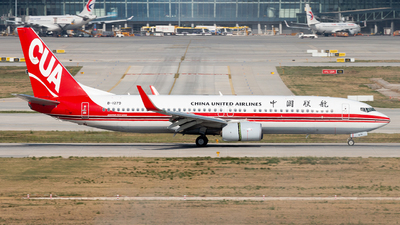 A picture of B1279 - Boeing 73789P - China United Airlines - © NSZJCuSO4