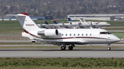 N350PR - Bombardier CL-600-2B16 Challenger 604 - Private