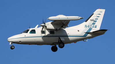 N40AM - Mitsubishi MU-2B-40 - Private