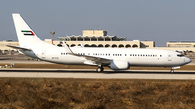 A6-FZZ - Boeing 737-8KN - United Arab Emirates - Dubai Air Wing