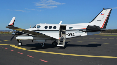 OK-SIL - Beechcraft C90B King Air - Private