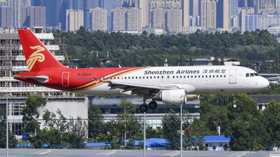 B-6649 - Airbus A320-214 - Shenzhen Airlines