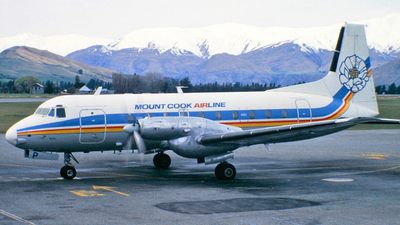 ZK-MCP - Hawker Siddeley HS-748 Series 2A - Mount Cook Airlines