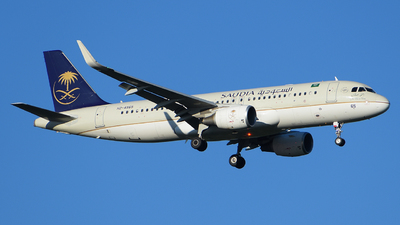 A picture of HZAS65 - Airbus A320214 - Saudia - © Luca Cesati