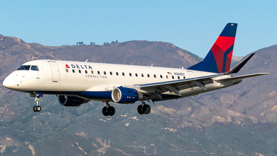 A picture of N268SY - Embraer E175LR - Delta Air Lines - © Ricky Teteris
