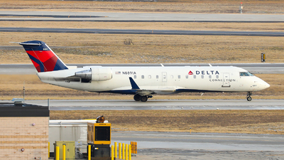 N8891A - Bombardier CRJ-200ER - Delta Connection (Endeavor Air)
