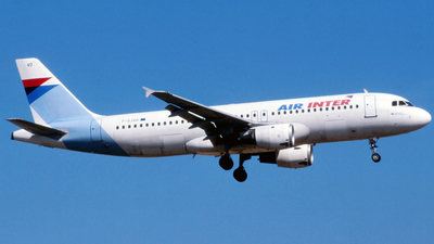 F-GJVD - Airbus A320-211 - Air Inter