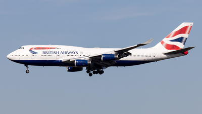 G-CIVV - Boeing 747-436 - British Airways