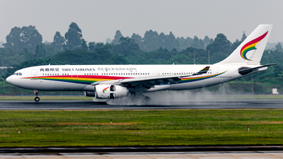 A picture of B8420 - Airbus A330243 - Tibet Airlines - © EVAesen29