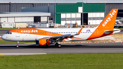 A picture of OEIZN - Airbus A320214 - easyJet - © Rui Sequeira