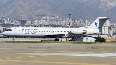 EP-MIS - Fokker 100 - Karun Airlines