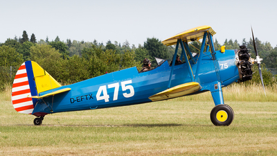 D-EFTX - Boeing N2S-3 Stearman - Private