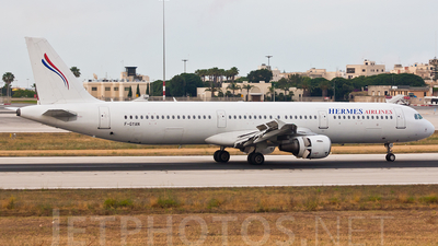 F-GYAN - Airbus A321-111 - Hermes Airlines (Air Méditerranée)