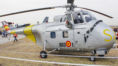 ZD.1B-19 - Westland Whirlwind Srs.2 - Spain - Air Force