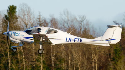 LN-FTV - Diamond DA-40 Diamond Star - Pilot Flight Academy