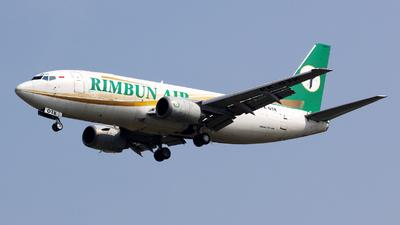 PK-OTK - Boeing 737-3Q8(SF) - Rimbun Air
