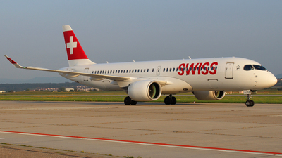 HB-JCG - Bombardier CSeries CS300 - Swiss
