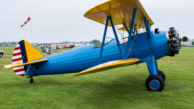N545WP - Boeing A75N1 Stearman - Private